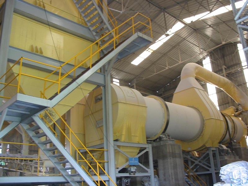 Montagem Secador de açúcar