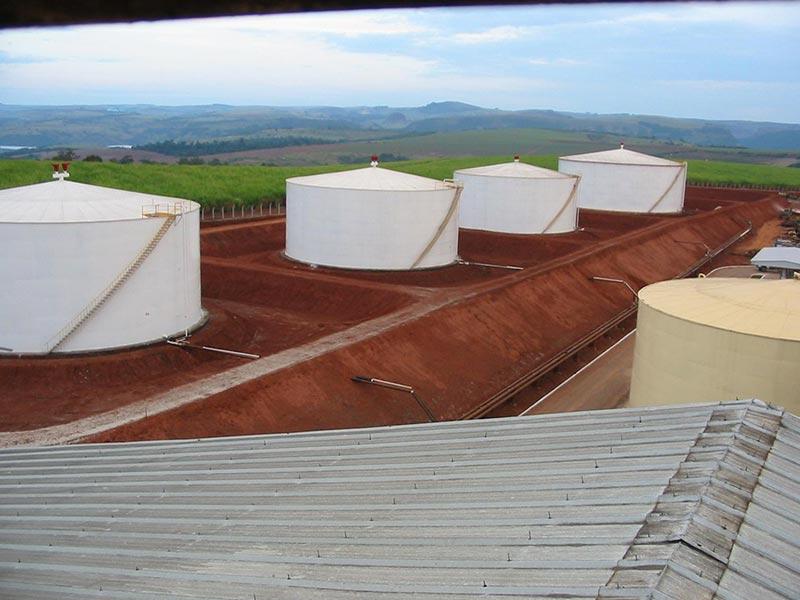 Montagem tanque de etal