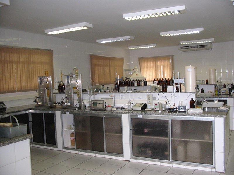 Reforma - laboratório industrial